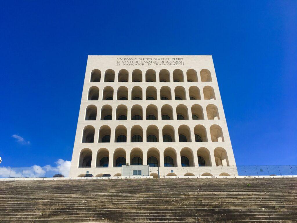 Palazzo della Civiltà Italiana Design Guide Rome