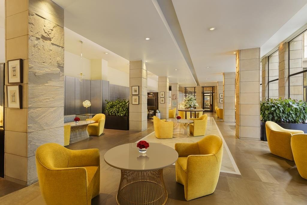 The stylish modern interiors of The Lodhi