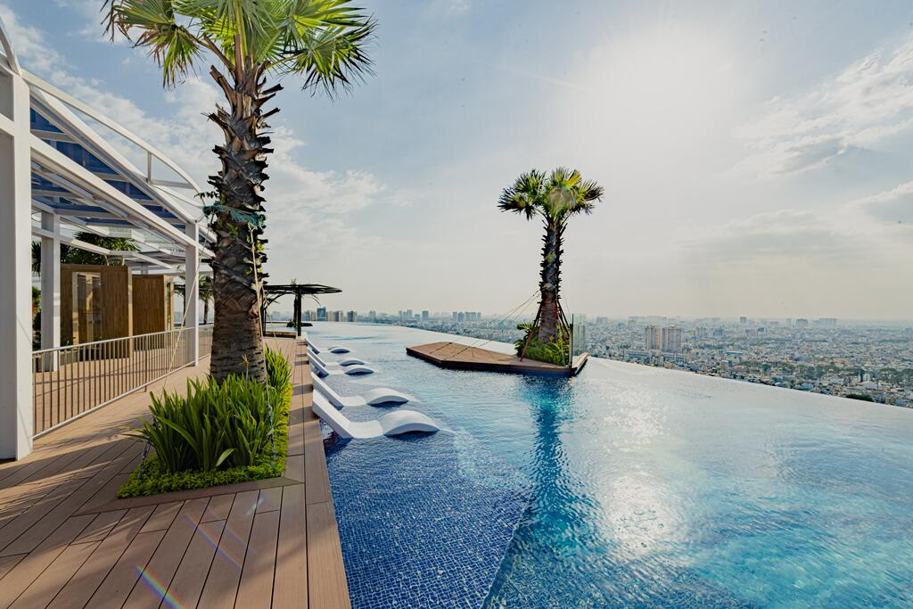 La Vela Saigon Hotel has one of Ho Chi Minh City's best rooftop pools