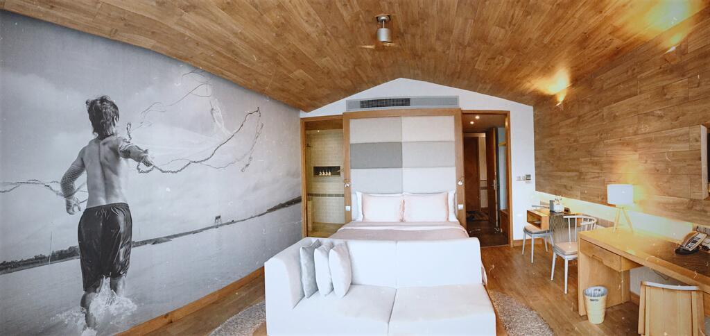 Fusion Suites Saigon has attractive contemporary interiors