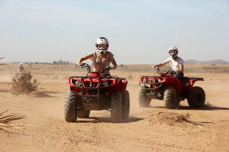 Quad Tour - Desert & Palm Grove Quad Biking Tour From Marrakesh