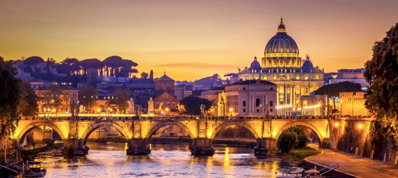Rome, Pompeii & Sorrento 5 Day Tour Package