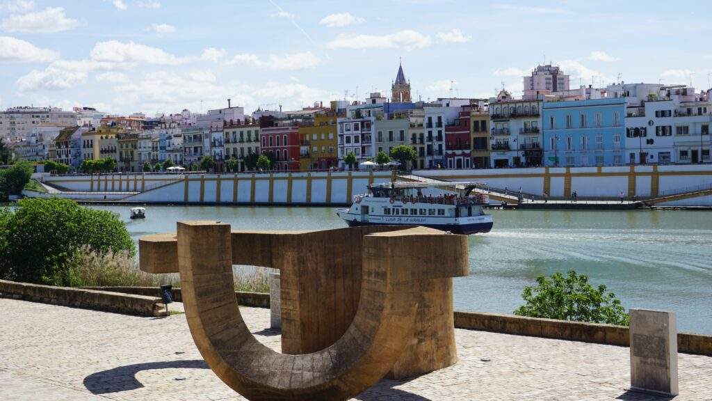 River 2 days in Seville itinerary