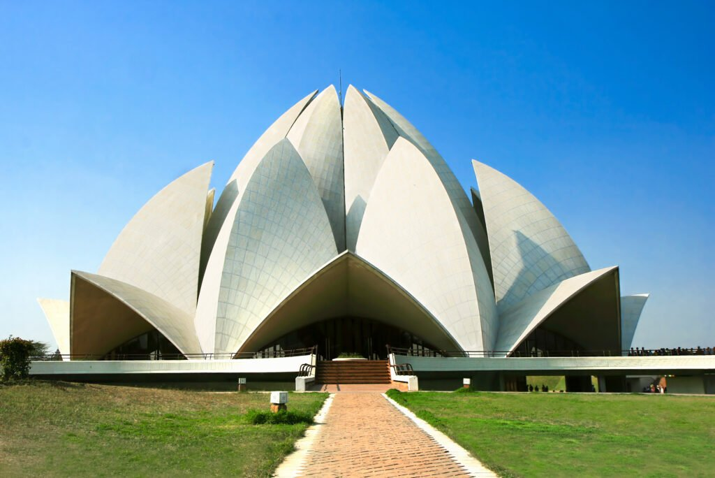 Visit the Lotus Temple