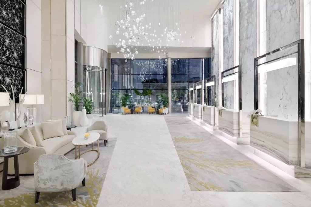 Address Downtown is typified by spacious interiors