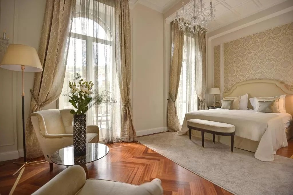 Plush surrounds at Amadria Park Hotel Milenij, Opatija