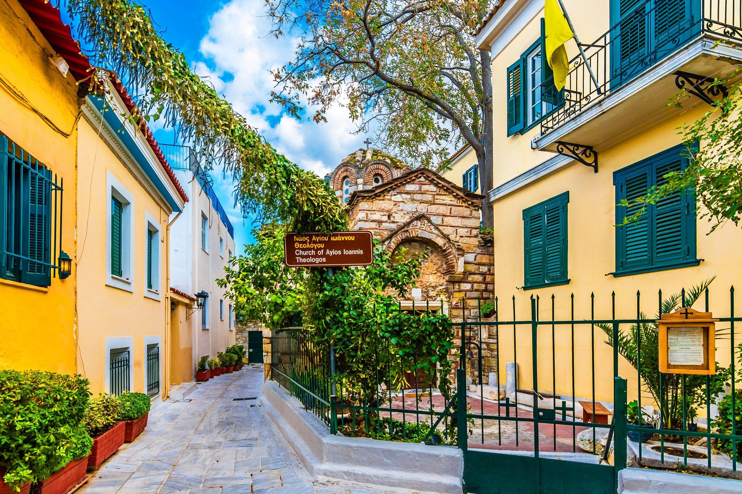 Plaka- Athens 5 Day City Break Tour Package