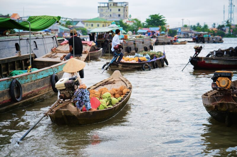 Floating Market Best Of Ho Chi Minh City & Mekong Delta 5 Day Tour Package