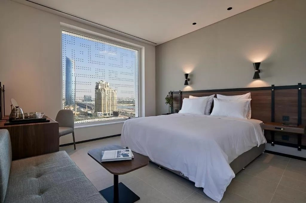 Chic interiors at Form Hotel Dubai