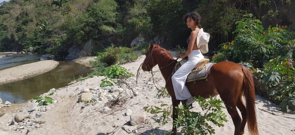 Horseback Riding and Hot Springs Mexico