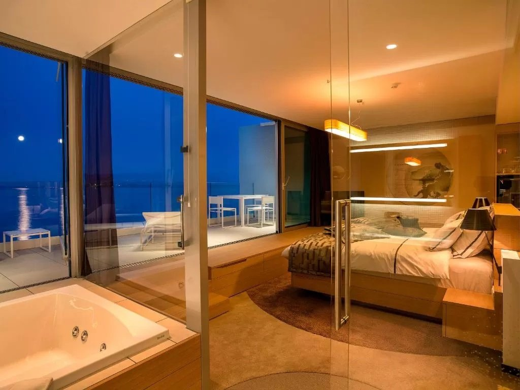 Rooms at Hotel Bevanda offer private balconies
