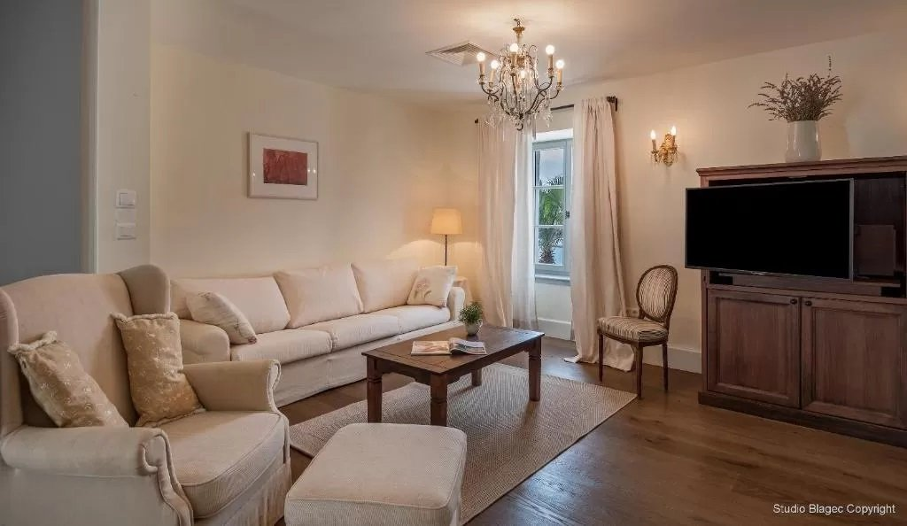 Fine interiors typify Hotel Martinis Marchi, Solta