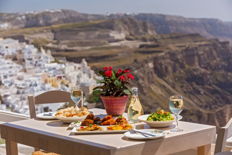 Join The Greek Food & Wine Tasting Tour In Santorini