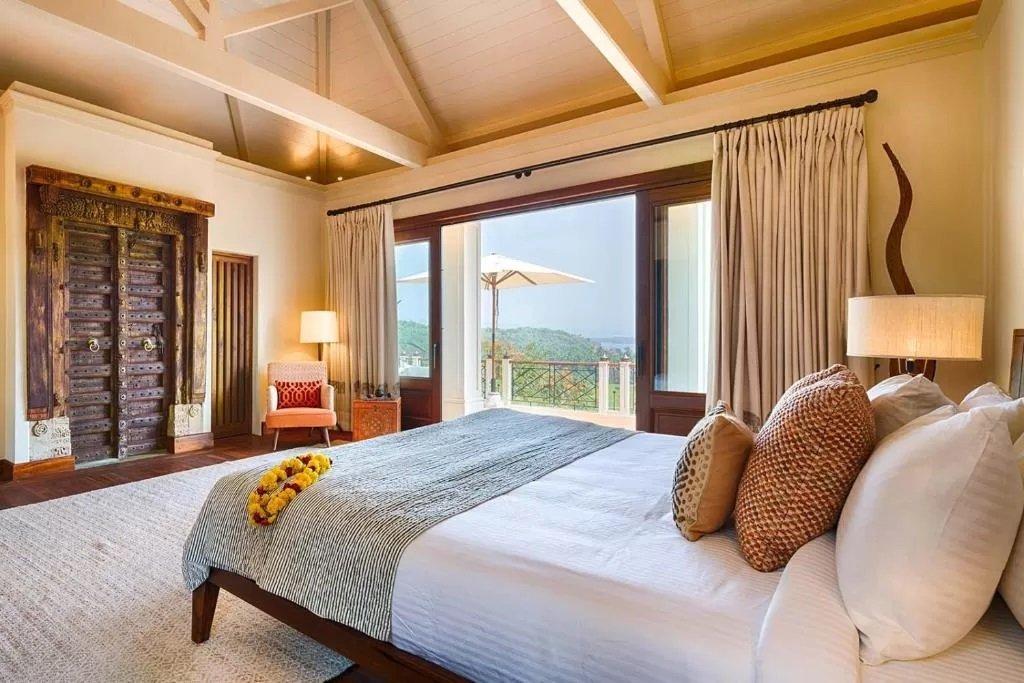 Airy rooms at Kahani Paradise, Karnataka