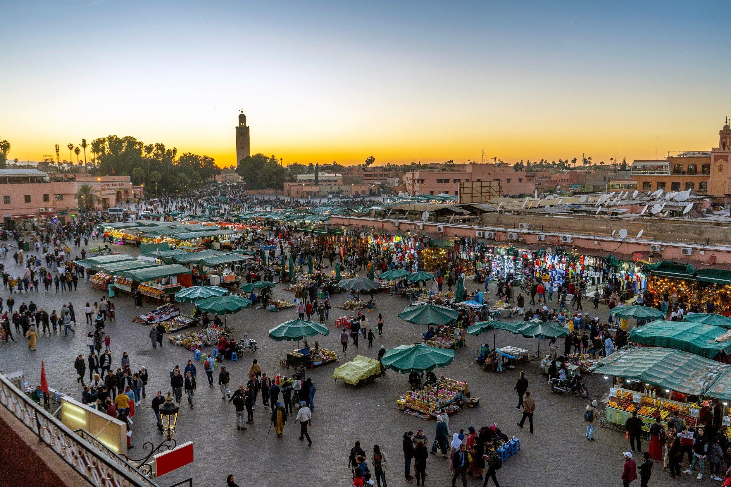 Marrakesh 4 Day City Break Tour Package