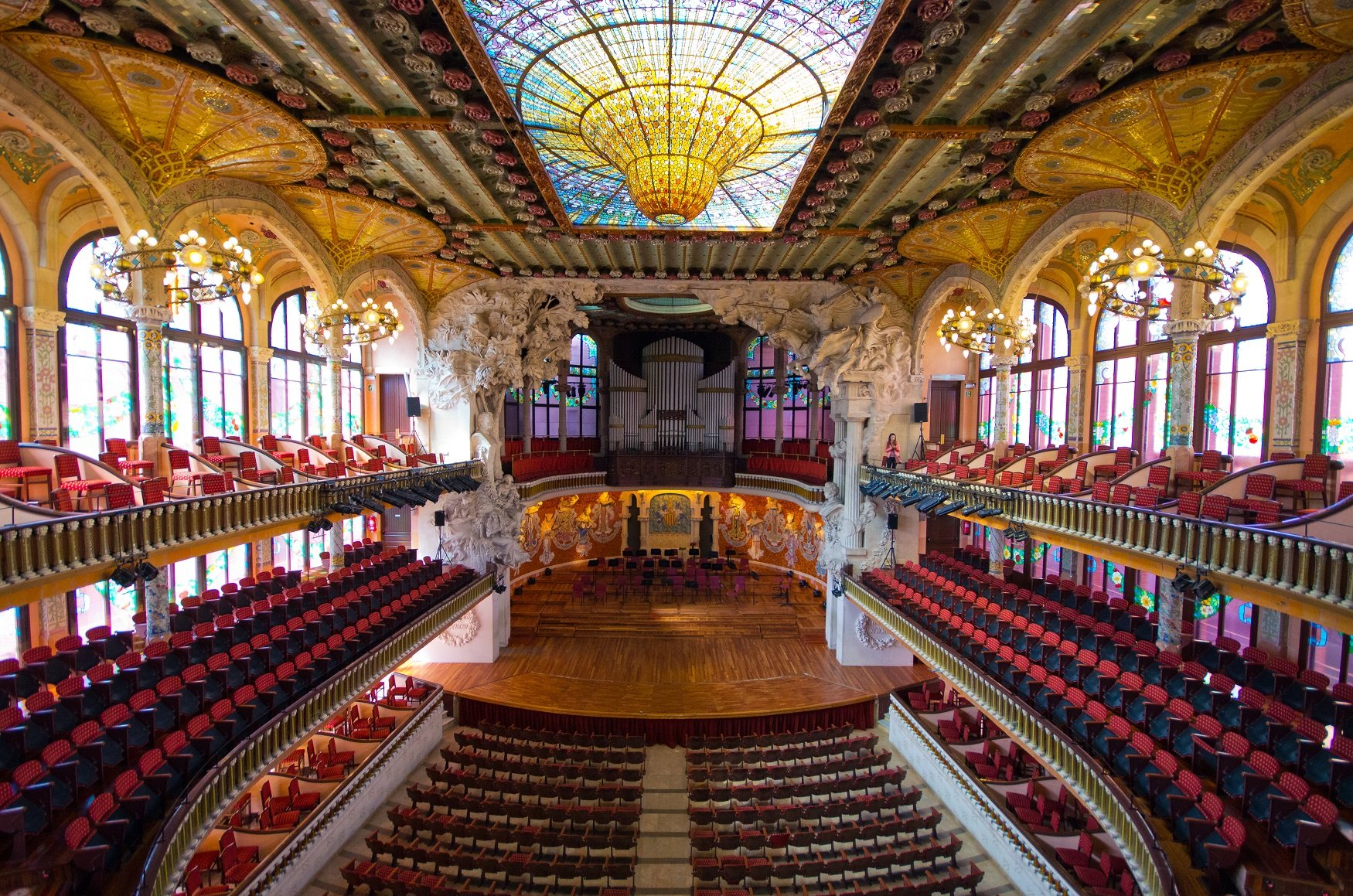 Palace of Catalan Music Barcelona