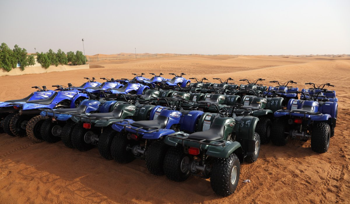 Red Dune Quad Bike Safari And Bbq Experience From Dubai - Small Group Tour_101_5