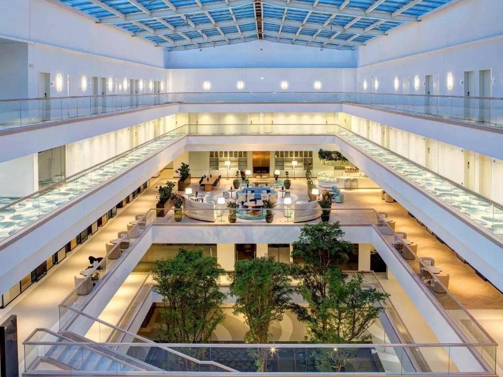 The stunning lobby at Rixos Premium Dubrovnik