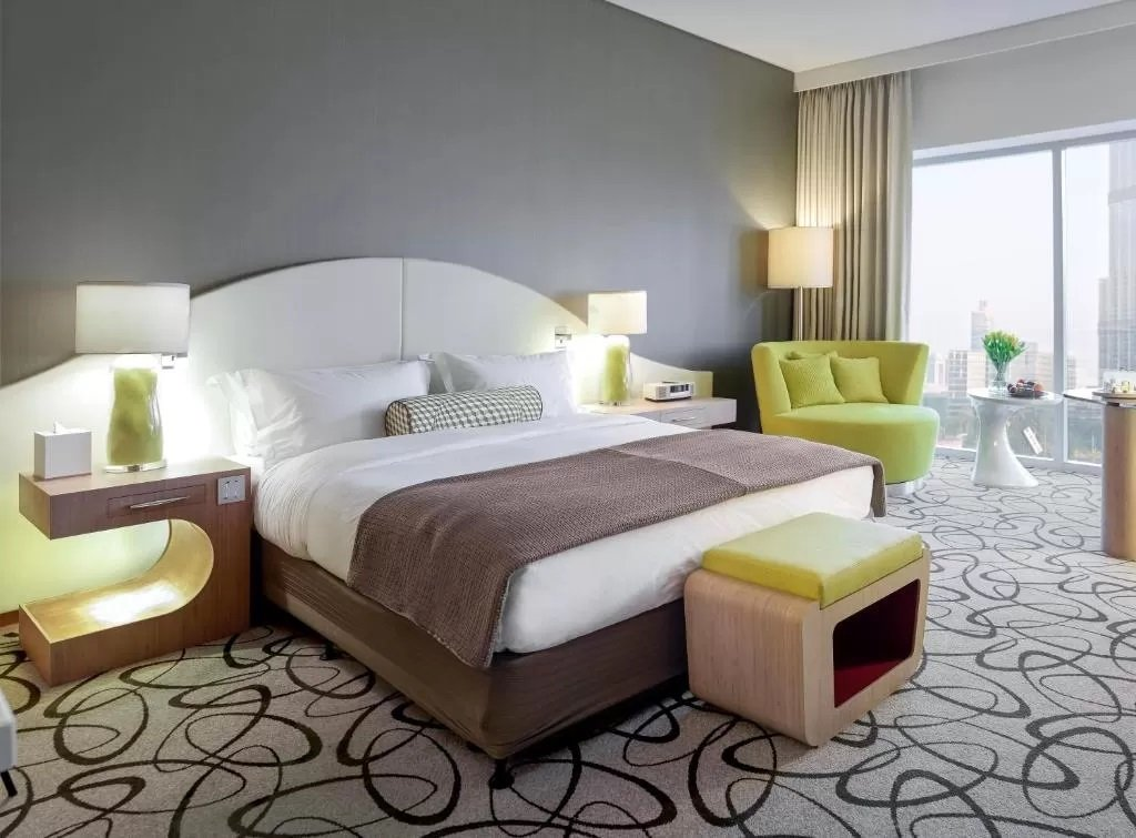 Bright rooms at Sofitel Dubai Downtown