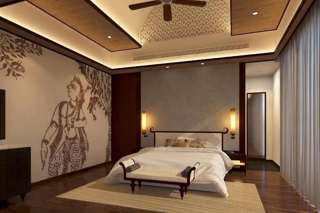 Murals add traditional elements to Taj Bekal Resort & Spa