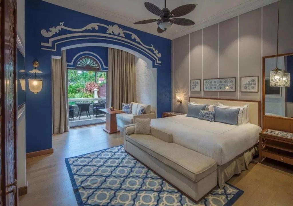 Colonial style at Taj Exotica, Goa