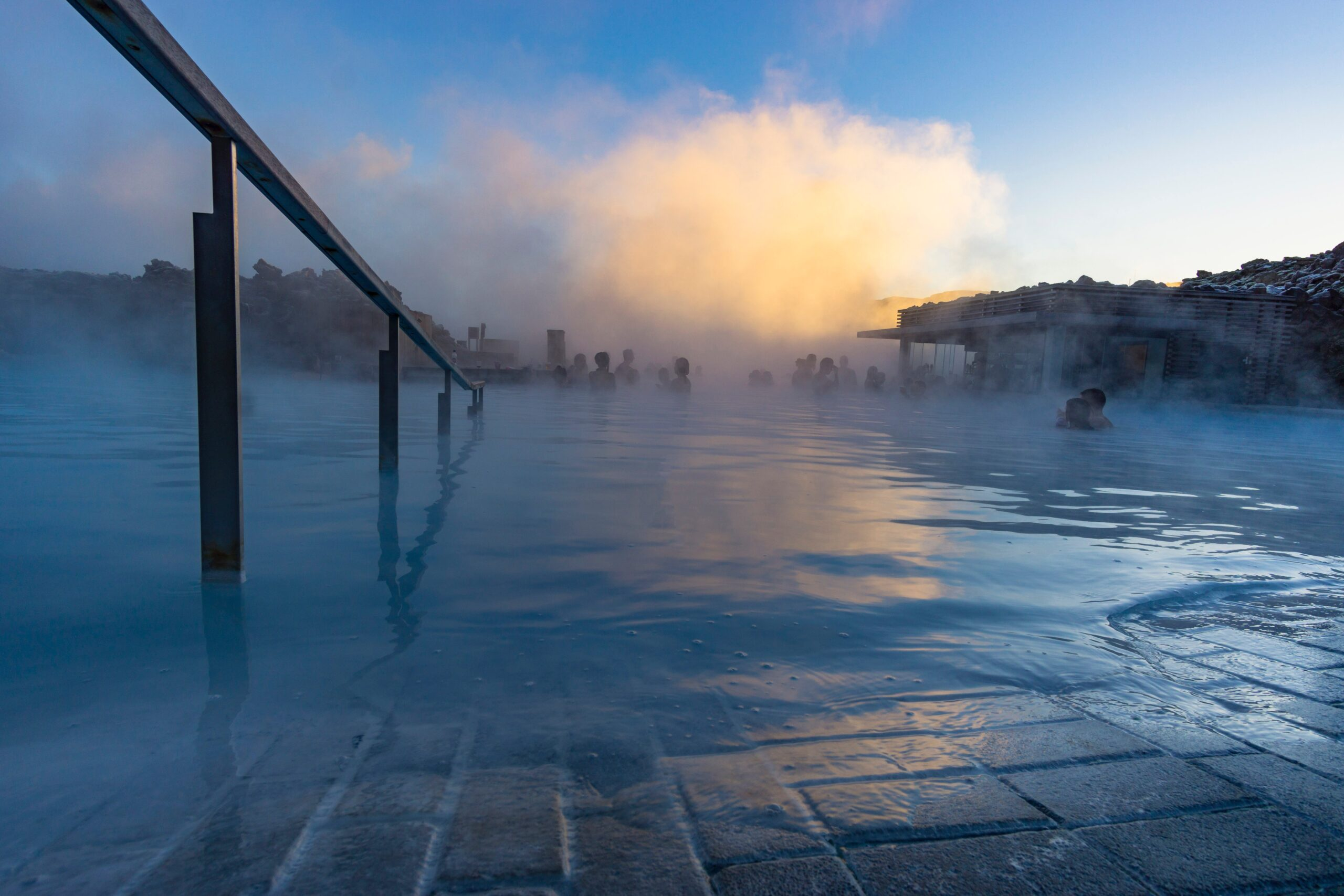 Steam At The Blue Lagoon On Our 5 Day Golden Circle, Jökulsárlón & Blue Lagoon Tour Package