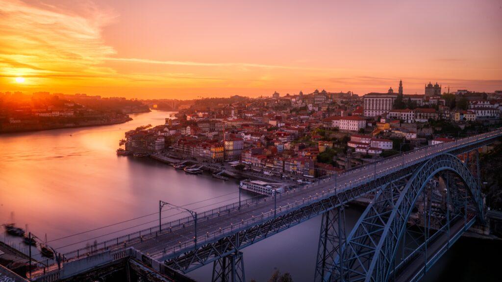 Porto, Portugal in fall
