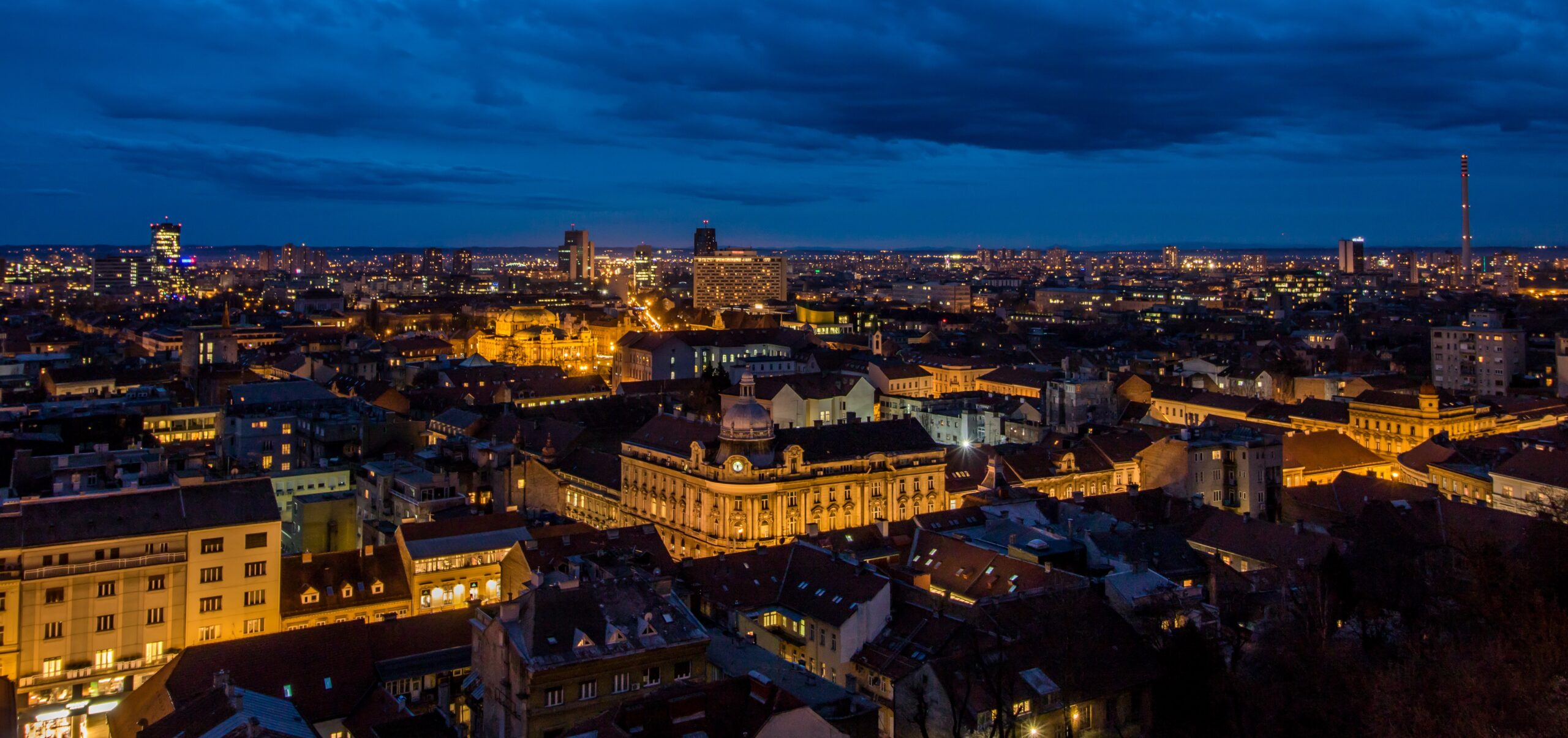 Zagreb At Night Tour On Our 7 Day Secrets Of Zagreb & Istrian Coast Tour Package
