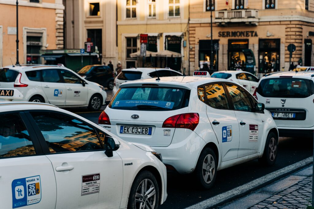 Airport guide Rome taxi
