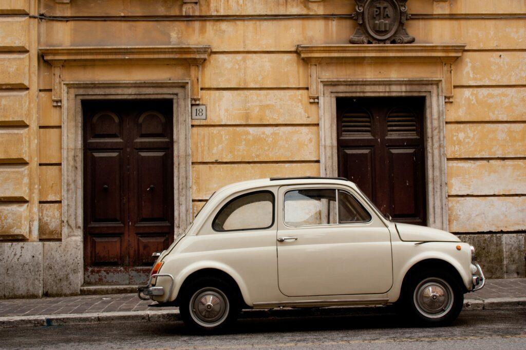 Airport guide Rome car
