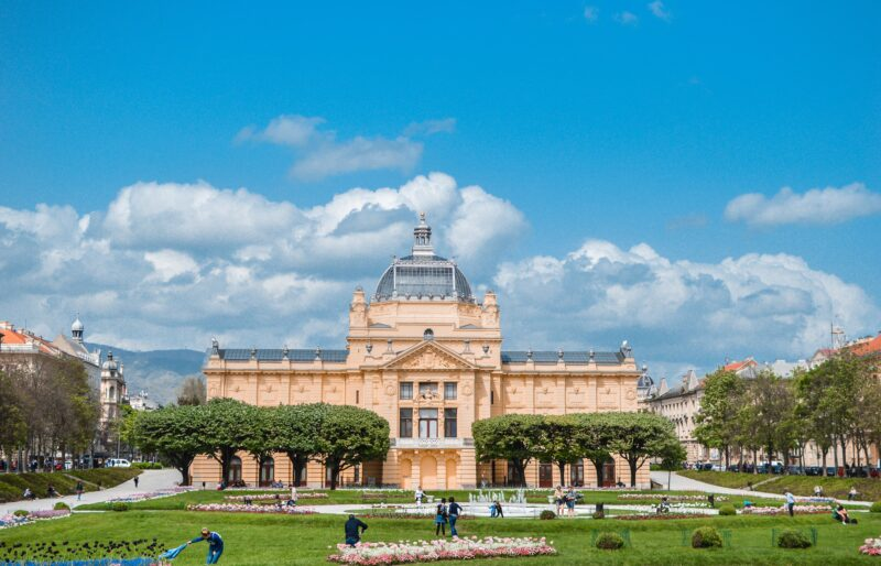 Beautiful Zagreb Buildings - 7 Day Secrets Of Zagreb & Istrian Coast Tour Package