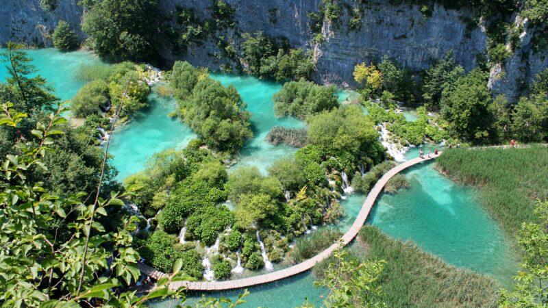 Gorgeous Plitvice National Park On Our 6 Day Split, Dubrovnik & Plitvice Lakes Tour Package