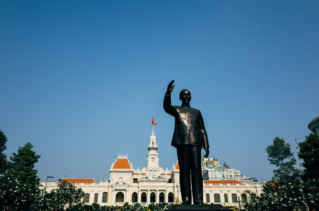 2 days in Ho Chi Minh City Reunification Palace