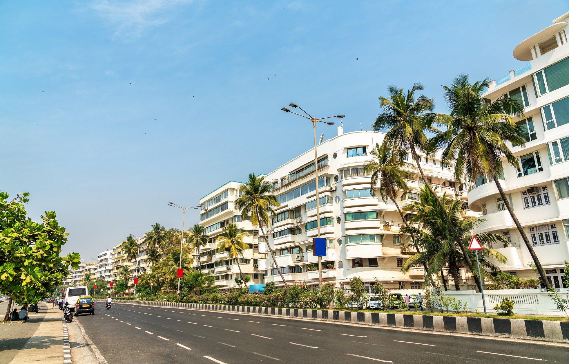 Design is not hard to find on Marine Drive Mumbai