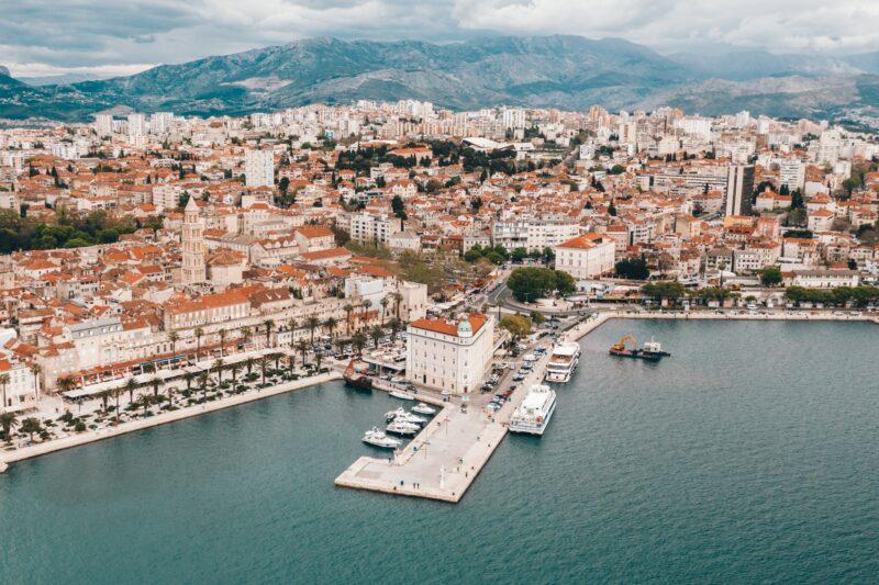 Explore Split's Ancient Alleyways On Our 6 Day Split, Dubrovnik & Plitvice Lakes Tour Package
