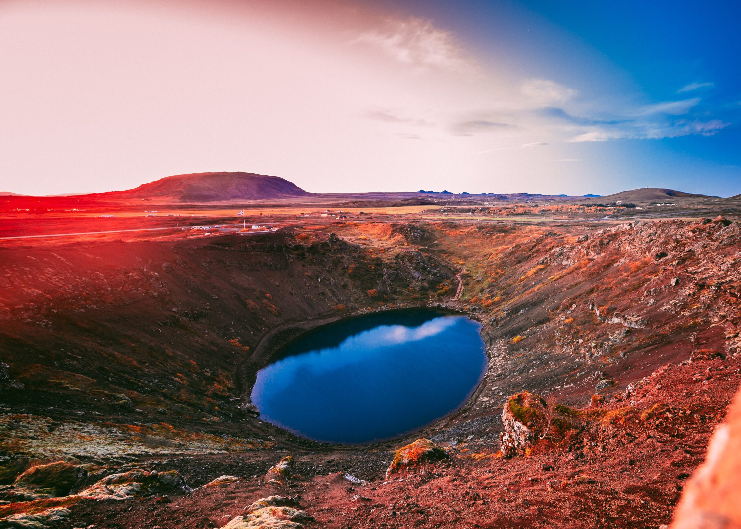 Visit Kerid Crater On Our 5 Day Golden Circle, Jökulsárlón & Blue Lagoon Tour Package