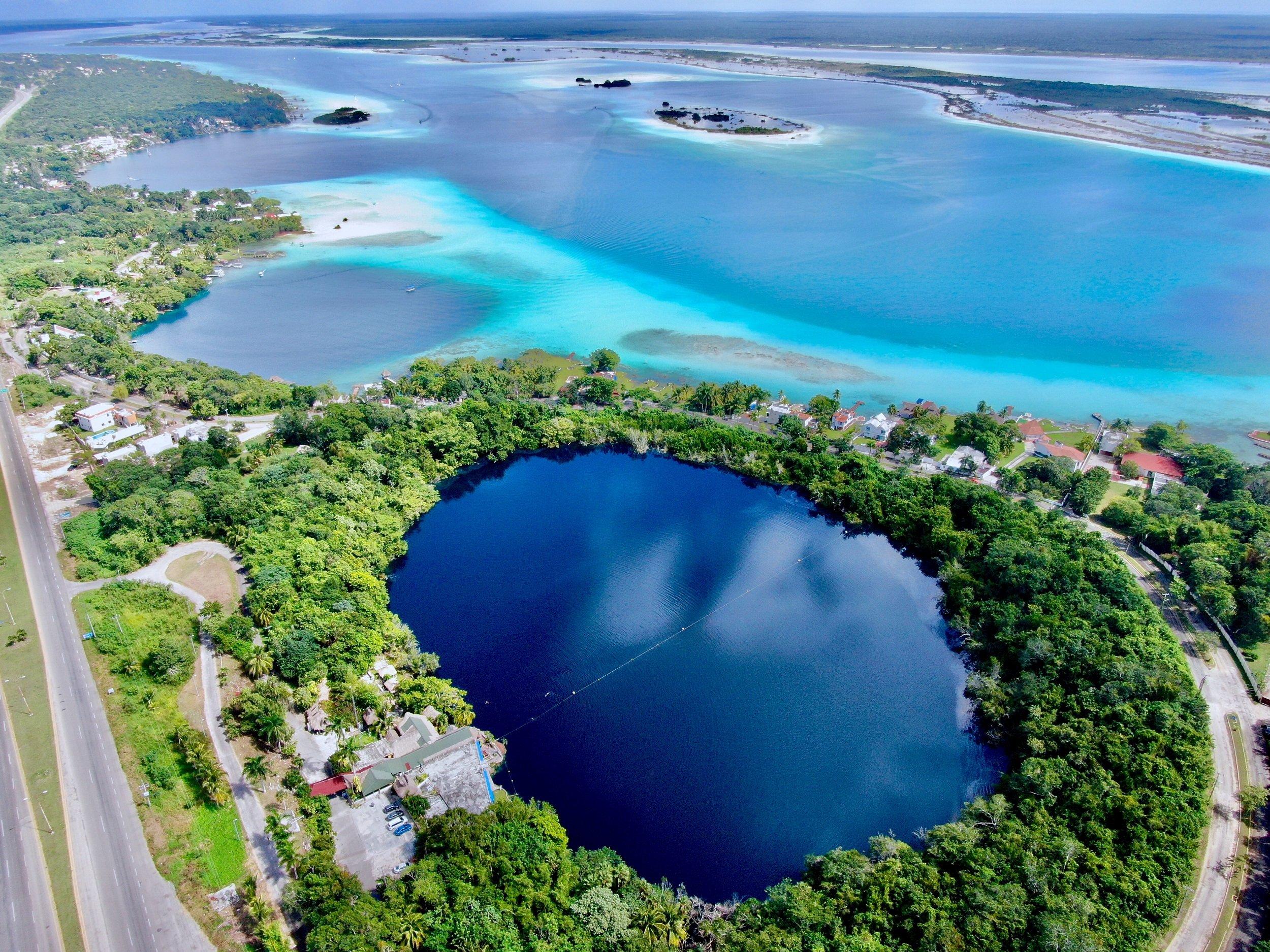 Bacalar - Lagoon Of The 7 Colors Sailing Experience From The Riviera Maya