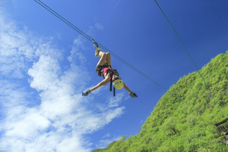 Zipline On Our 8 Day Los Cabos Adventure Tour Package