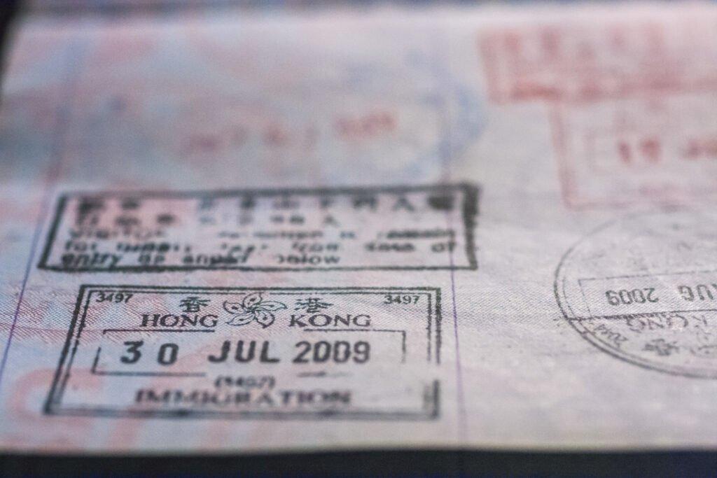 Do I need a visa for Hong Kong and China