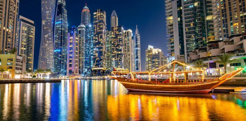 Marina Dhow Cruise Dinner From Dubai