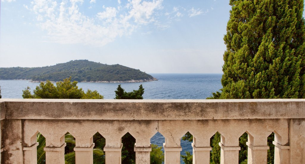 One of the views from Villa Orsula