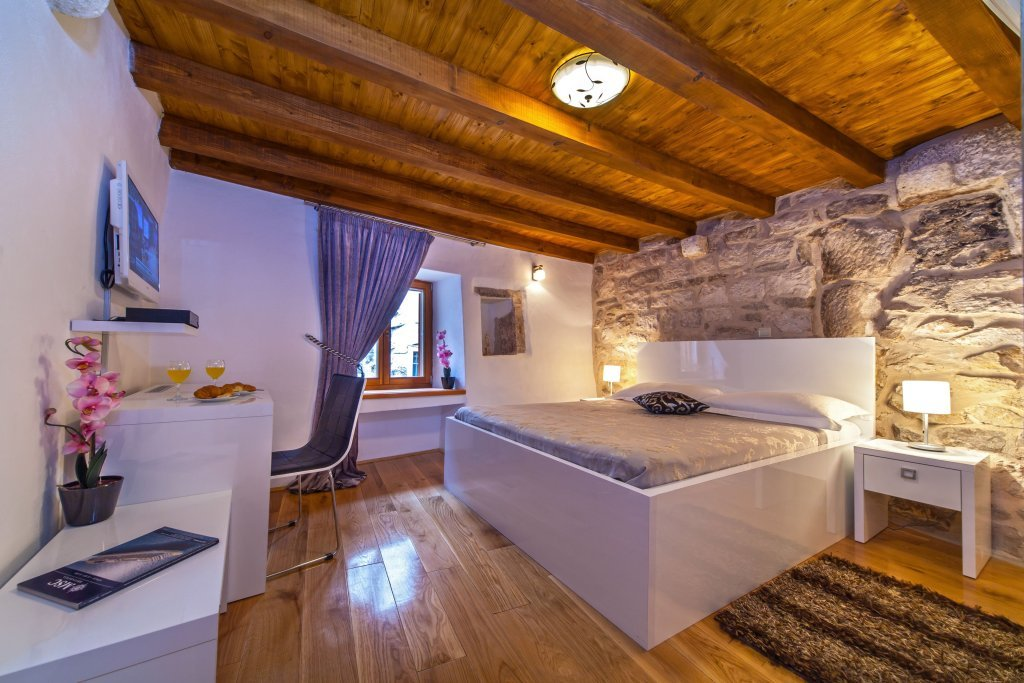 Authentic traditional features at Villa Split Heritage Hotel