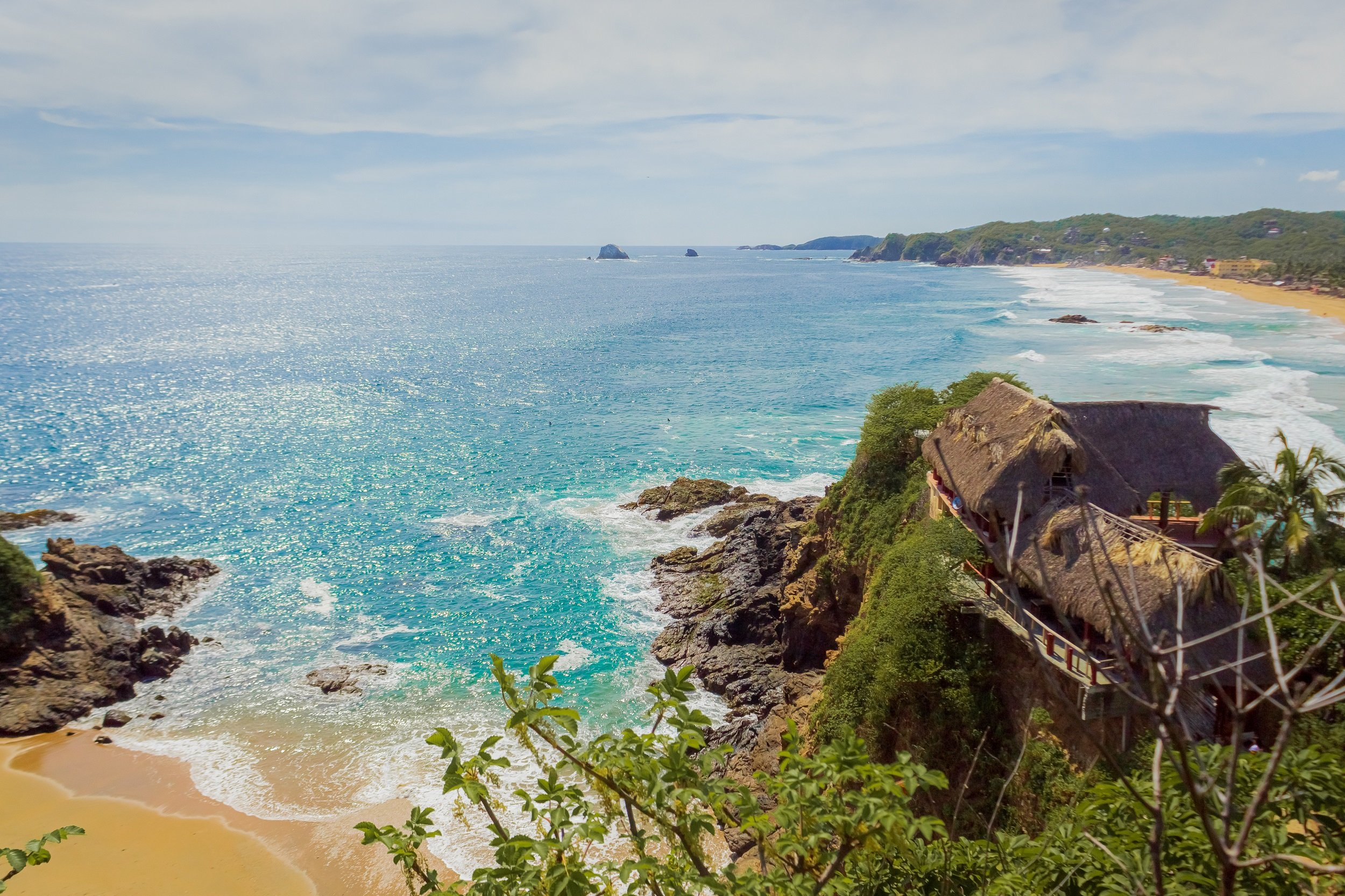 Zipolite-on-the-6-day-highlights-of-huatulco-surrounding-package-tour