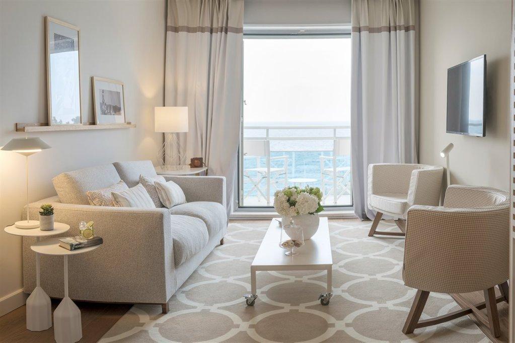 Adriatic views from Hotel Bellevue