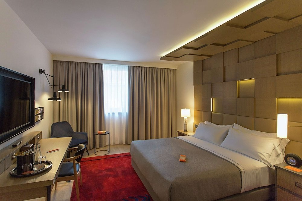 Well-furnished rooms at Canopy by Hilton Zagreb City Center