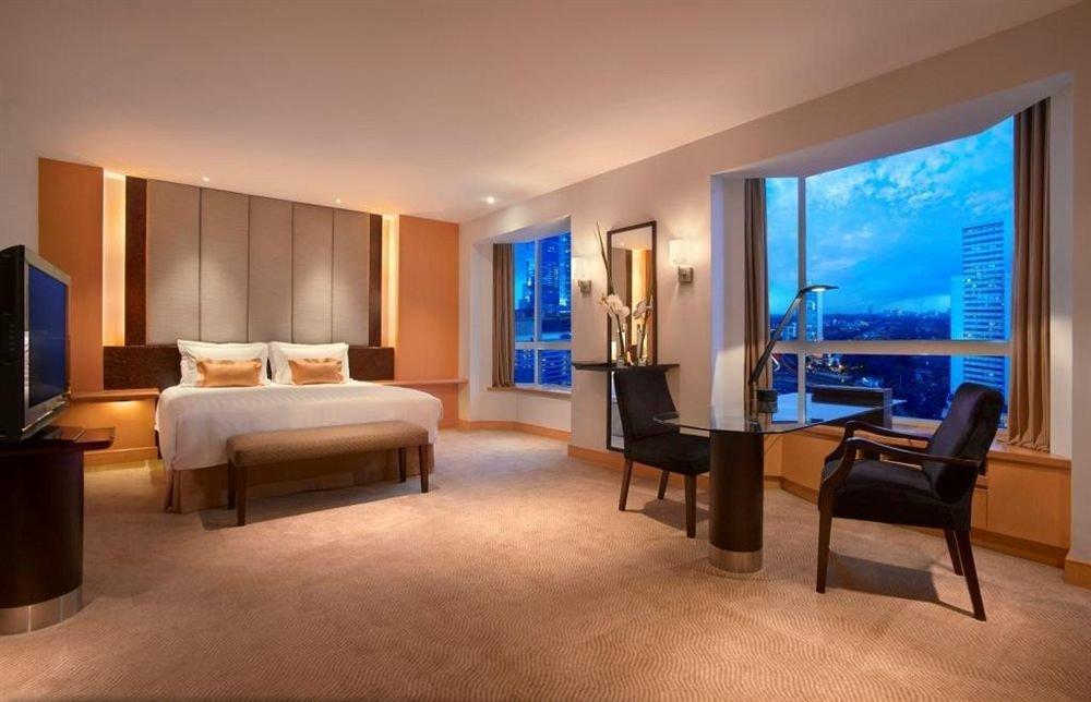 Grand Hyatt Jakarta has contemporary interiors