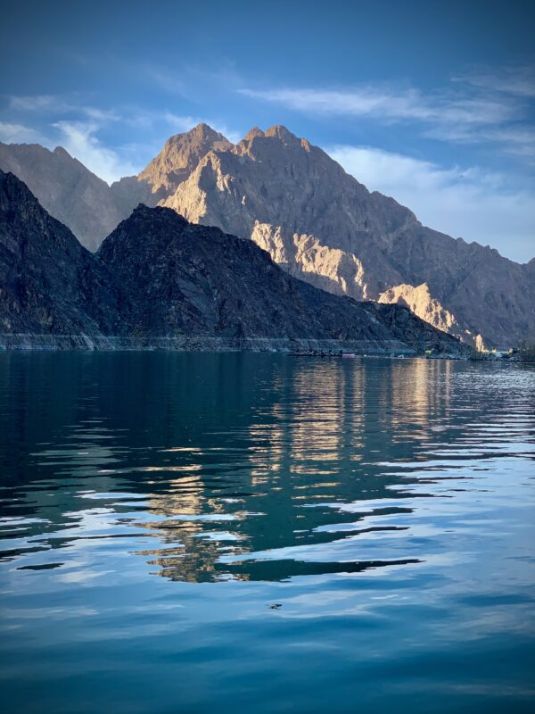 Hatta Water Dam On Our Hatta Mountain Safari Tour From Dubai