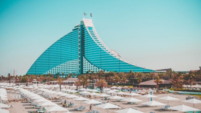 Hotel Sightings On Our Dubai Night Tour & Dhow Cruise Dinner