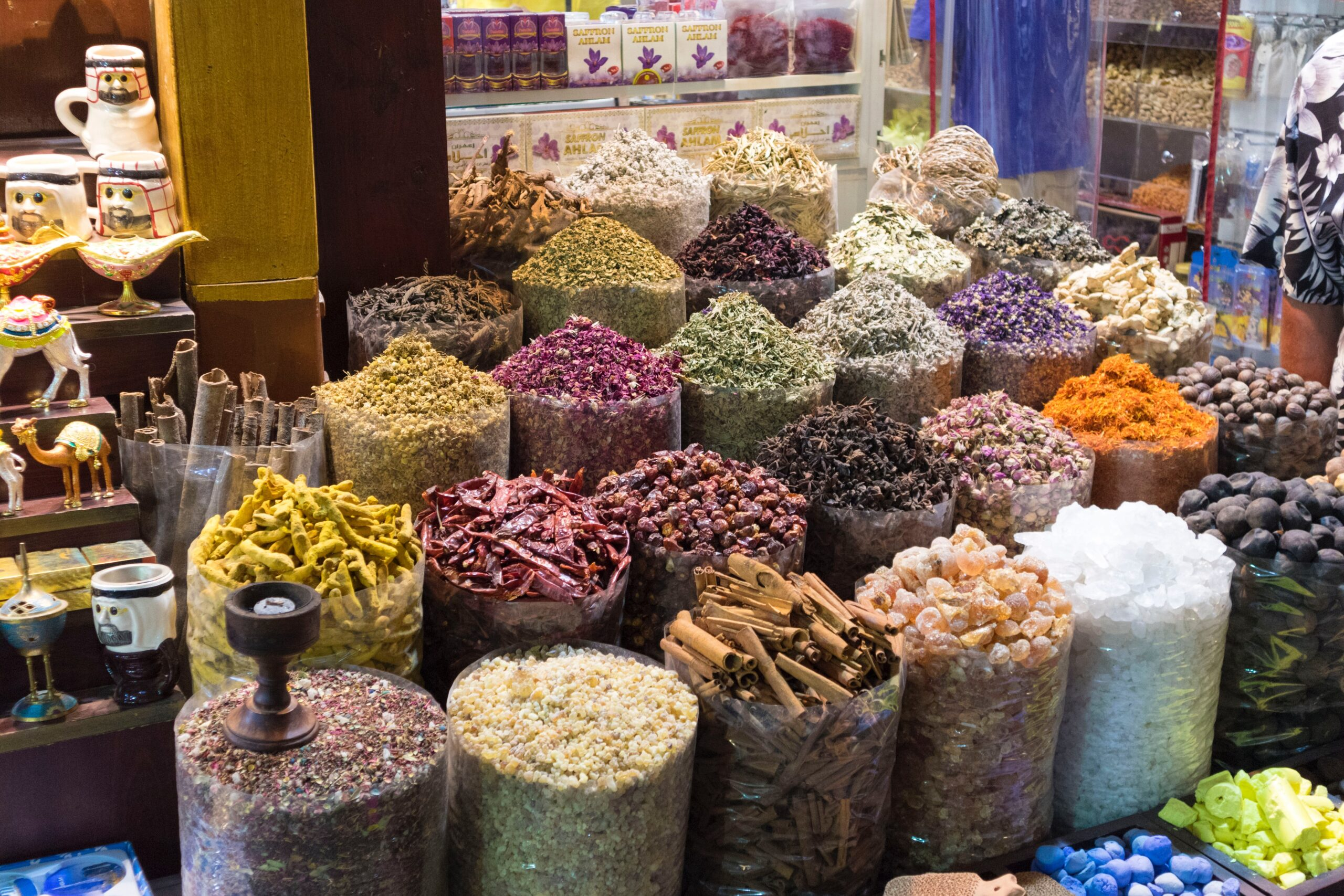 See The Gold And Spices Souk On Our Visit Dubai On Our Classic Dubai Half Day Tour