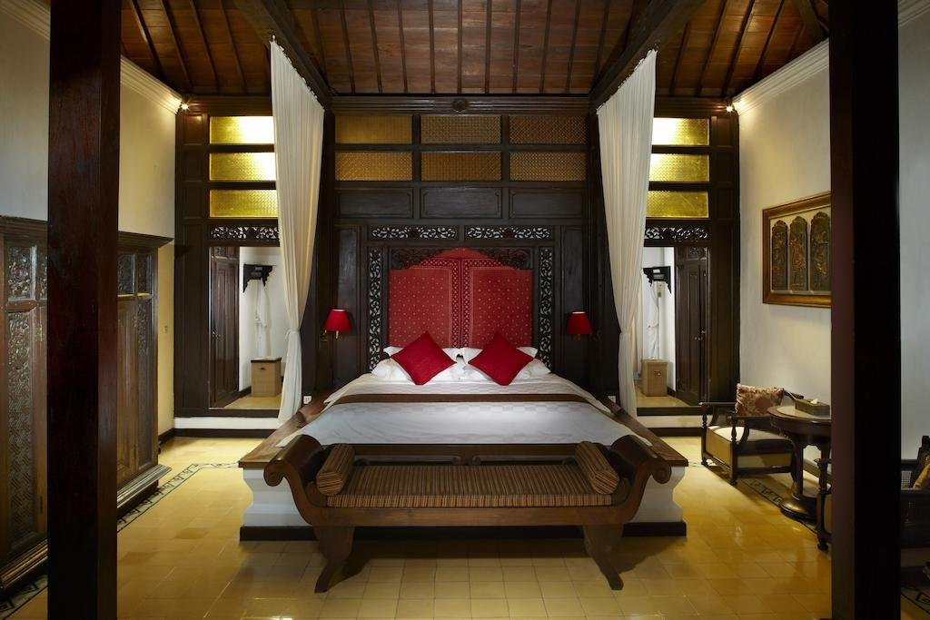 One of MesaStila Resort and Spa's ornate guest rooms